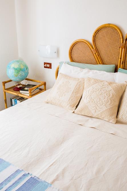 casa vacanze villa ciacipiruli, dettaglio camera da letto